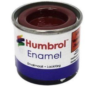 Humbrol 020 Crimson Red kiiltävä
