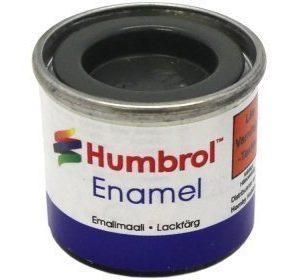 Humbrol 032 Dark Grey matta