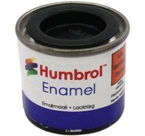 Humbrol 033 Black matta