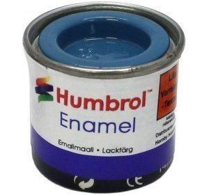 Humbrol 048 Mediterranean Blue kiiltävä
