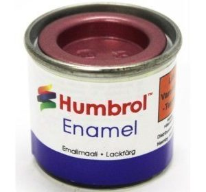 Humbrol 051 Metallic Red metallihohto