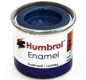 Humbrol 052 Baltic Blue metallihohto