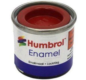 Humbrol 060 Scarlet matta