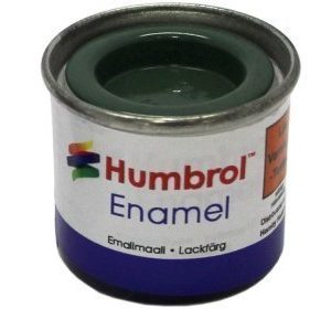 Humbrol 076 Uniform Green matta