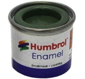 Humbrol 080 Grass Green matta