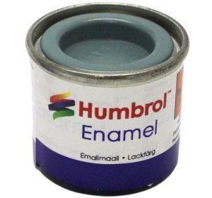 Humbrol 087 Steel Grey matta
