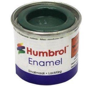 Humbrol 088 Deck Green matta