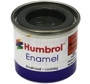 Humbrol 091 Black Green matta