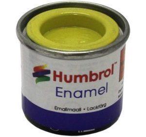 Humbrol 099 Lemon matta