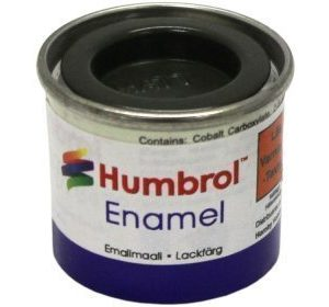 Humbrol 116 US Dark Grey matta