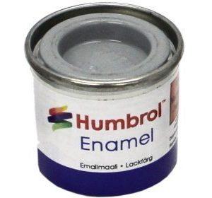 Humbrol 127 US Ghost Grey puolikiiltävä