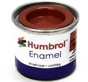 Humbrol 132 Red puolikiiltävä