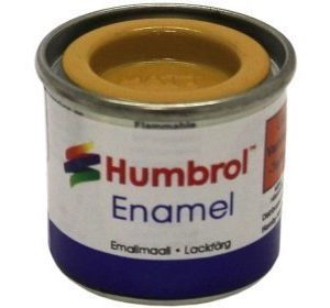 Humbrol 154 Insignia Yellow matta