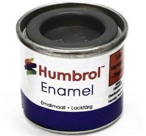 Humbrol 156 Dark Camouflage Grey puolikiiltävä
