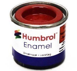 Humbrol 174 Signal Red puolikiiltävä