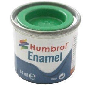 Humbrol 208 Signal Green kiiltävä