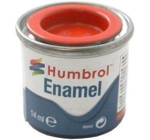 Humbrol 209 Fire Orange kiiltävä