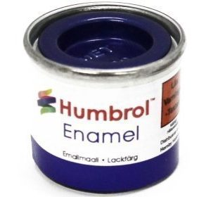 Humbrol 222 Moonlight Blue metallihohto