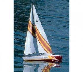 Huson segelbåt Dumas