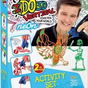 IDO3D Vertical 3D-piirrokset Neonvärit
