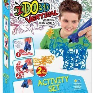 IDO3D Vertical 3D-piirustussetti Keltainen & Sininen