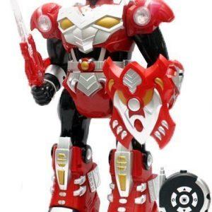 Infrapuna Robotti Warrior Action Punainen