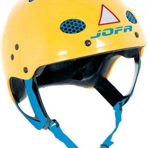 JOFA Kypärä 715 Keltainen/Sininen Medium