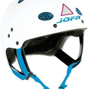 JOFA Kypärä 715 Valkoinen/Sininen Small