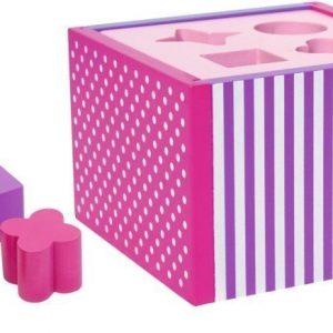 Jabadabado Palikkalaatikko Vaaleanpunainen