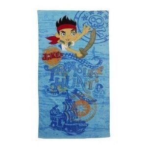 Jake ja Mikä-Mikä-Maan merirosvot-pyyhe