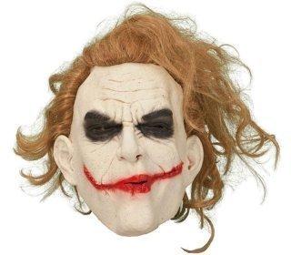 Jokeri naamari hiuksilla