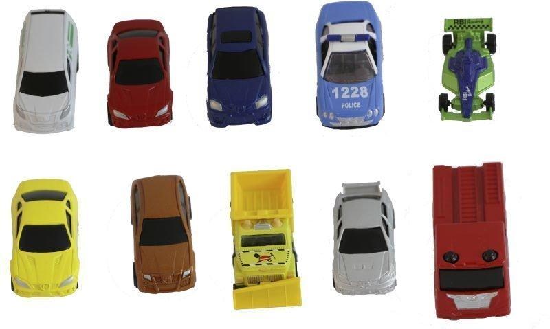 Junior Driver Die Cast Cars 10 kpl Punainen F1