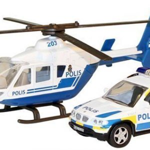 Junior Driver Helikopteri ja poliisiauto