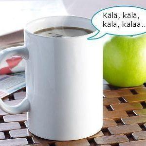 Kälättävä kahvimuki