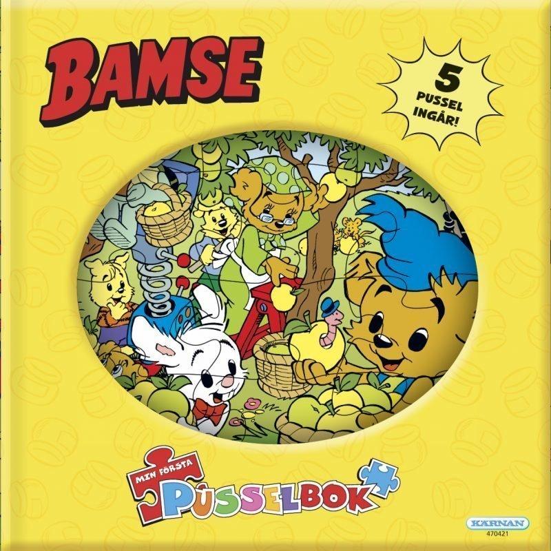 Kärnan Ensimmäinen palapelikirjani Bamse