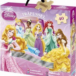 Kärnan Puinen palapeli Disney Princess Jasmine ja Rajah 40 palaa