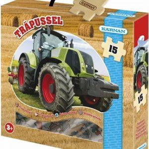 Kärnan Puupalapeli Traktori 15 palaa
