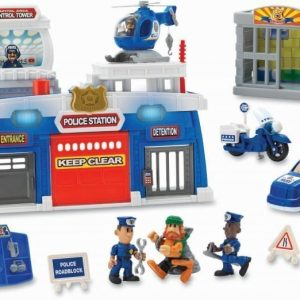 Keenway Poliisiasema ääni- ja valotoiminnolla