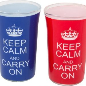 Keep Calm Shotglas