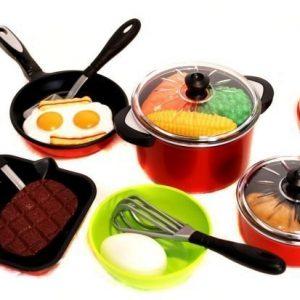 Keittiösetti Leikkiruokaa 18 osaa