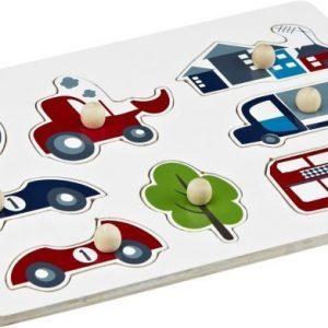 Kids Concept Autopalapeli Sininen