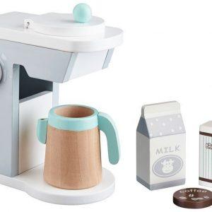 Kids Concept Leikkiruokaa Kahvinkeitin Valkoinen/harmaa
