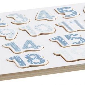 Kids Concept Numeropalapeli Sininen