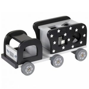 Kids Concept Palikkakuorma Auto Musta