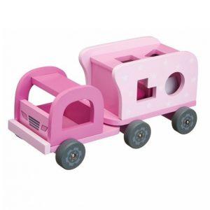 Kids Concept Rosa Palikkakuorma Auto