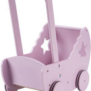 Kids Concept Star Nukenvaunut sekä vuodevaatteet Vaaleanpunainen