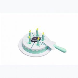 Kids Concept Syntymäpäiväkakku Sininen / Minttu