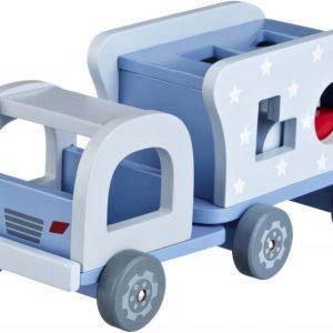 Kids Concept Turbo Palikkalaatikko Sininen