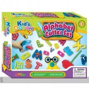 Kidsdough Kirjaimet+Muovailuvaha Kids Dough 5x50 G