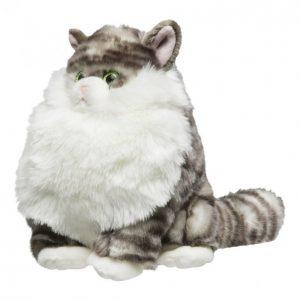 Kissa Pehmo Harmaa 25cm